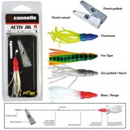 Plomb palette Cannelle Activ Jig 20 gr