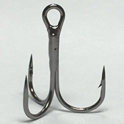 Hameçon triple Maruto black nickel