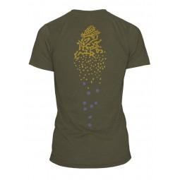 T-Shirt Repyourwater Brook Trout Skin Spine dos