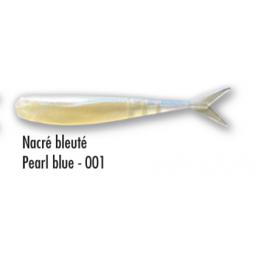 Leurre souple Delalande Drop Shad 5 cm Nacré Bleuté