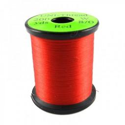 Soie de Montage Uni-Thread 8/0 Rouge